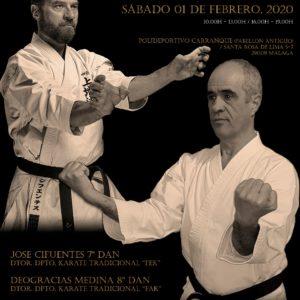Cartel Curso Karate Rad 2020
