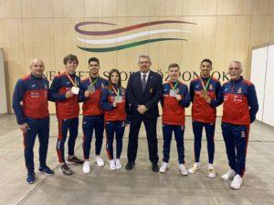 Medallas Fak Europeo Cadete 2020