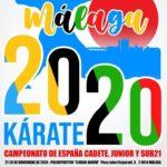 Cartel Cpto España Malaga 2020