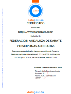 Certificado Lgdp Fak