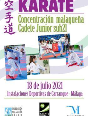 Concentracion Malagueña Cadjunsub21 2021